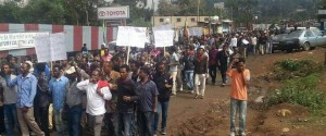 Oromo's students protest